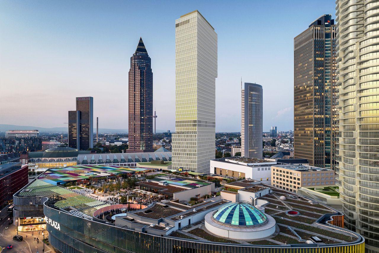 CA Immo vermietet 3.000 Quadratmeter im Frankfurter Hochhausprojekt ONE