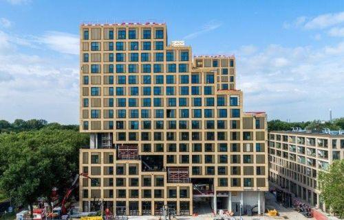 Preisgekröntes THE FIZZ Utrecht mit 639 Apartments eröffnet