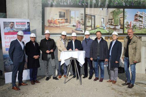 """STRABAG Real Estate feiert Grundsteinlegung des Projekts """"The Wild"""""""
