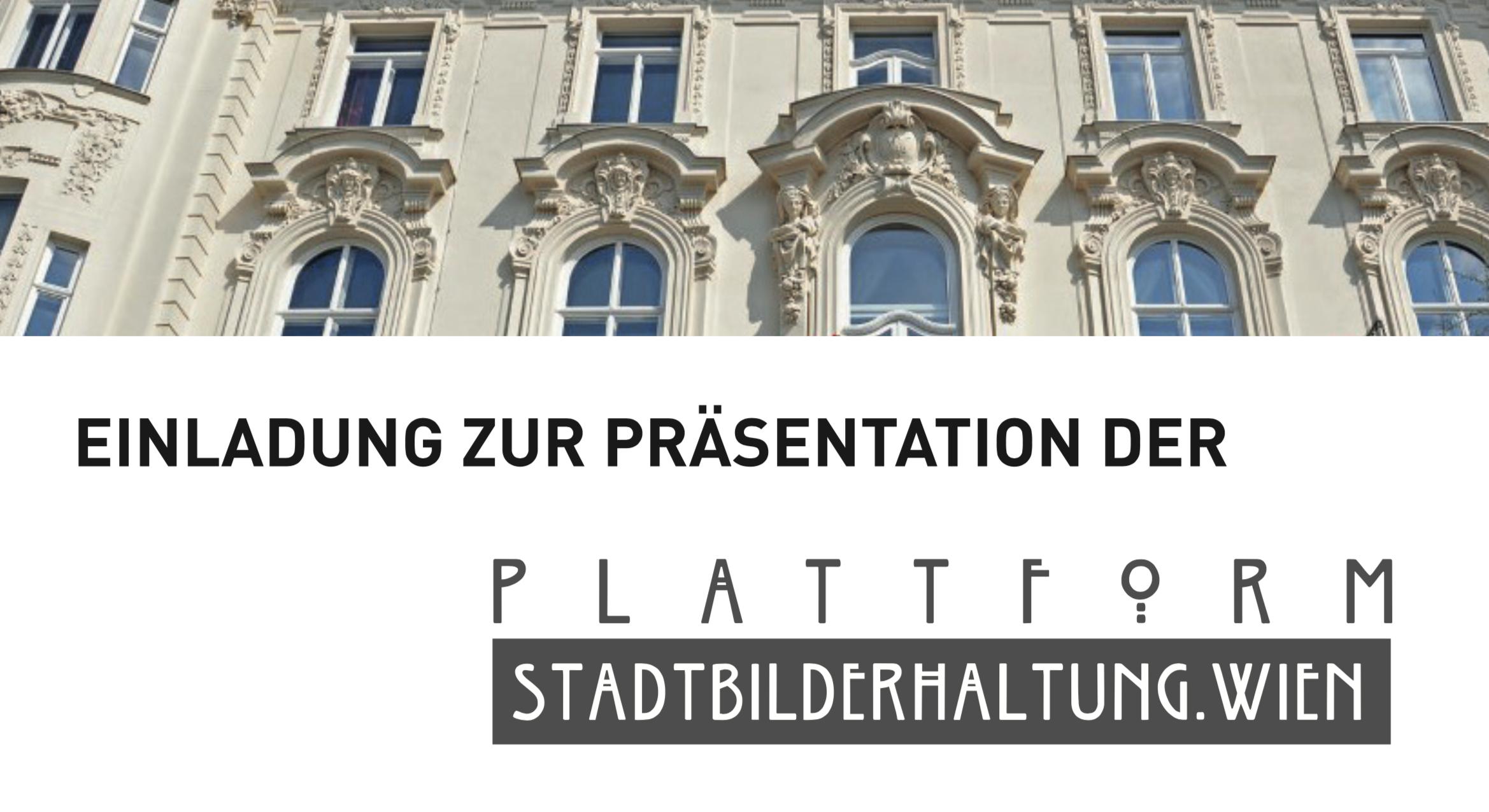 Plattform Stadtbilderhaltung.Wien