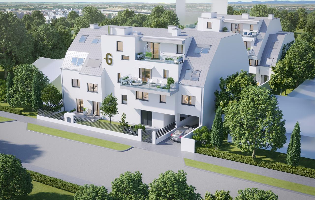 Dachgleiche in der Donaustadt