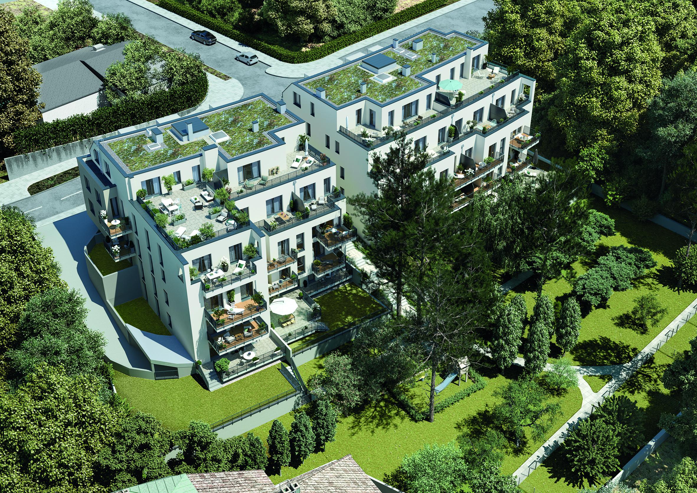Baustart der Penzinger Parksuites