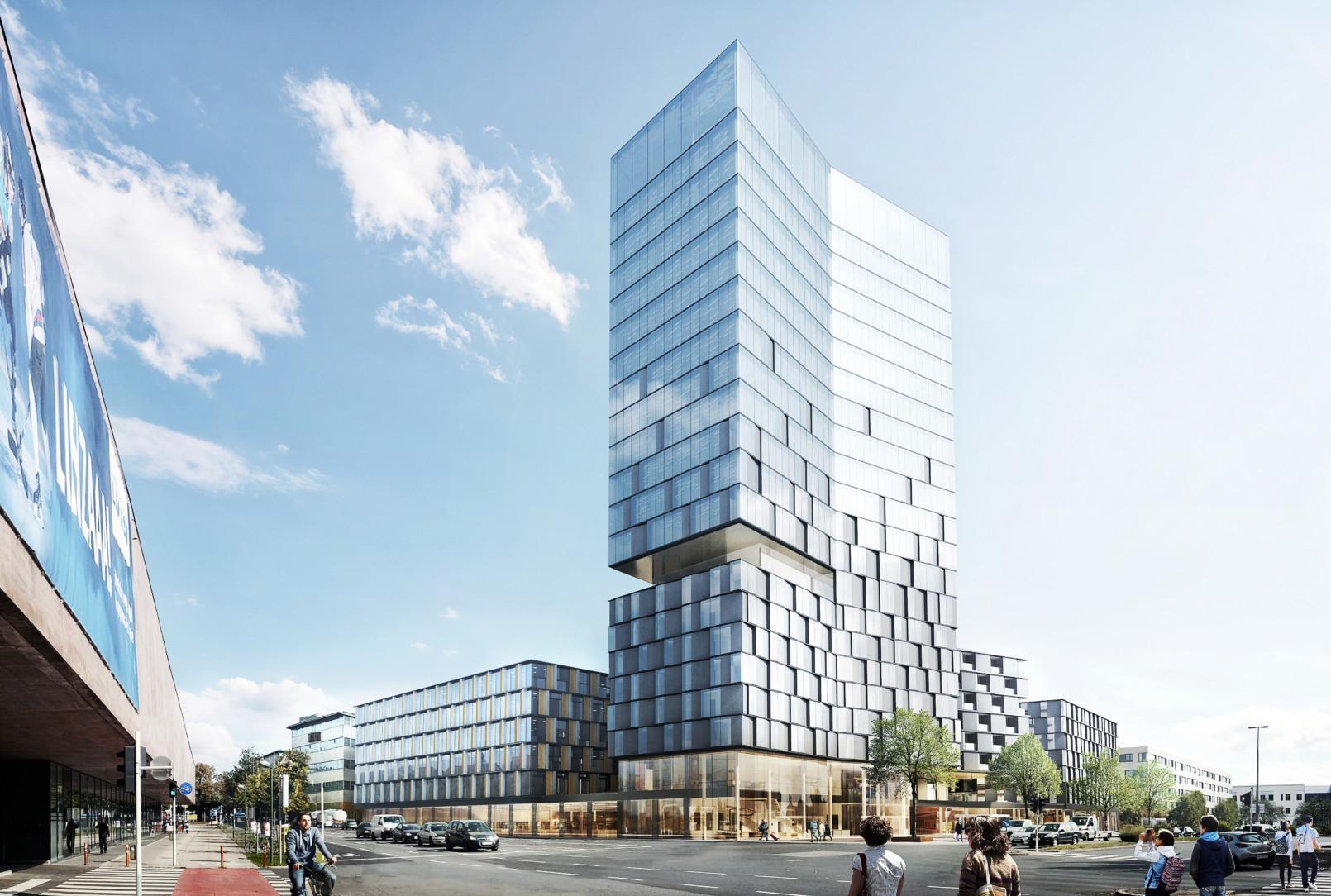 Neues Gebäudensemble für Linz