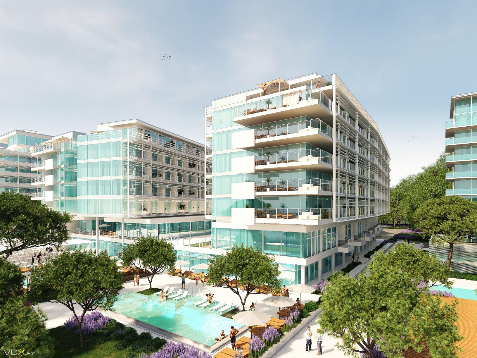 42 neue Luxuswohnungen in Jesolo