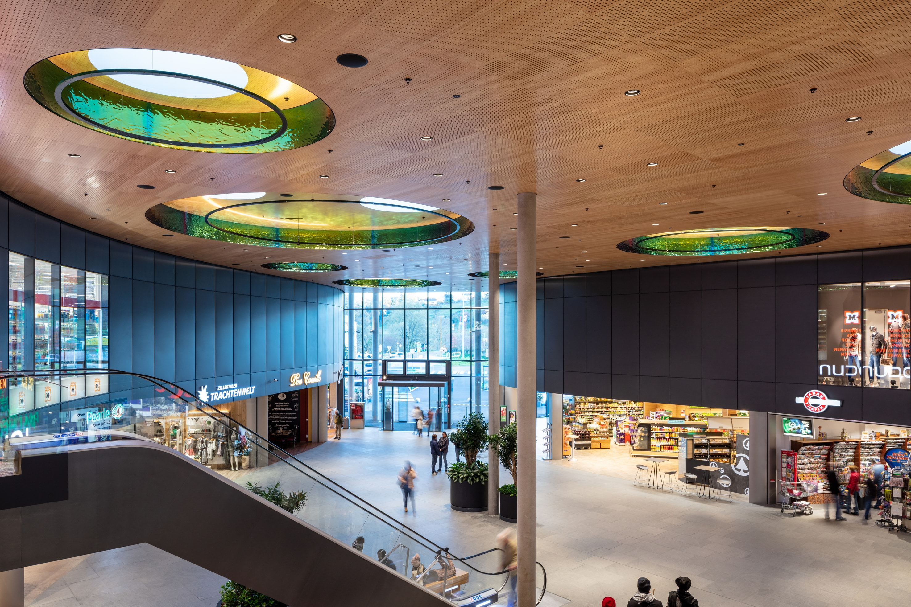 Herausragendes Shopping Mall-Design