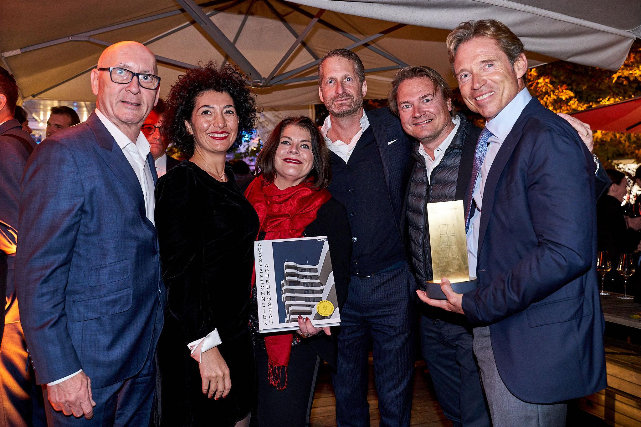 6B47 beim Award Deutscher Wohnungsbau 2019 ausgezeichnet