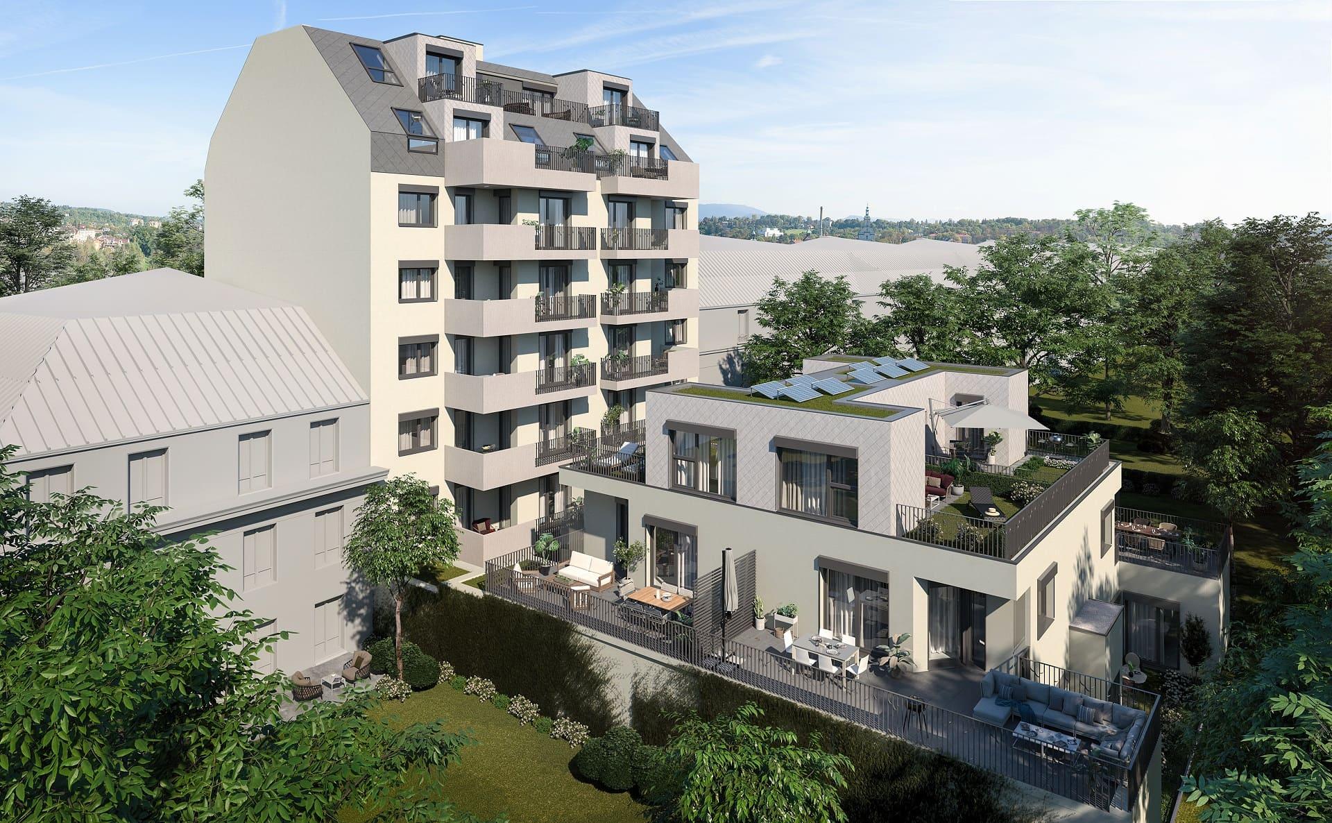 Baustart für zwei Dutzend Wohnungen in Penzing