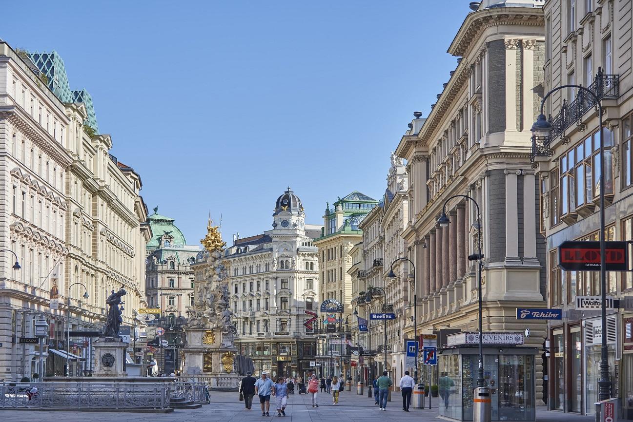 Wiens Tourismus im April