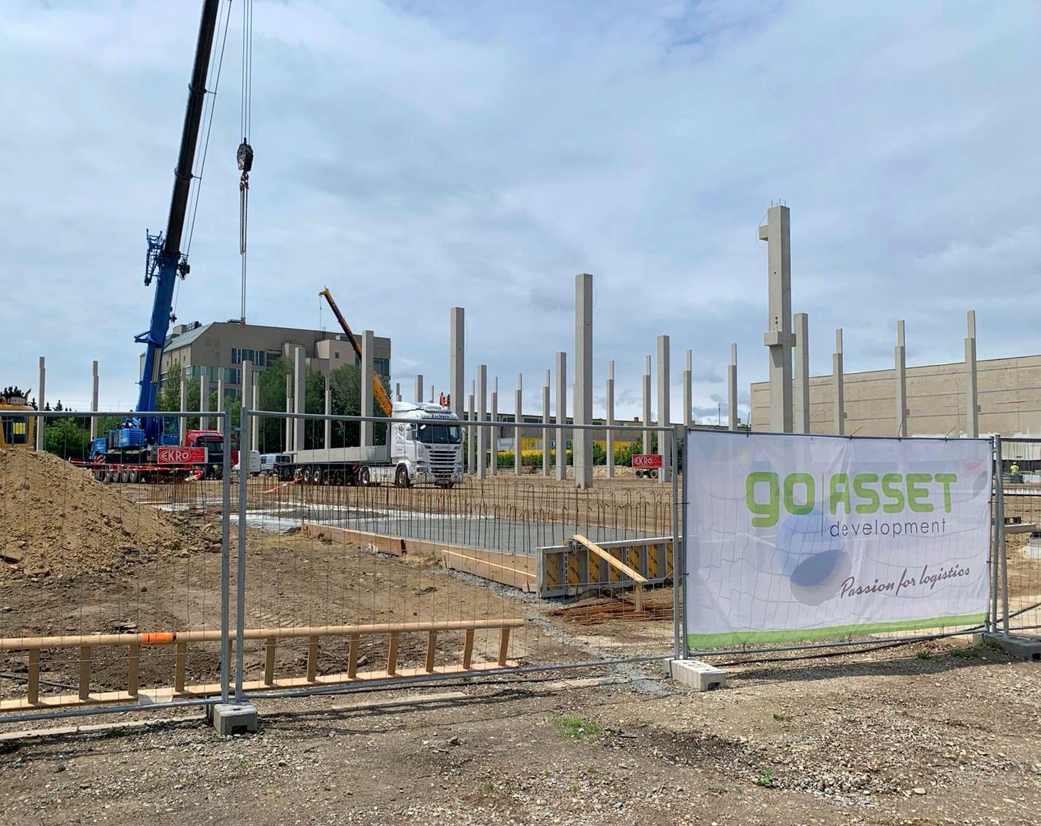 Wien: neue City-Logistik Immobilie in Bau