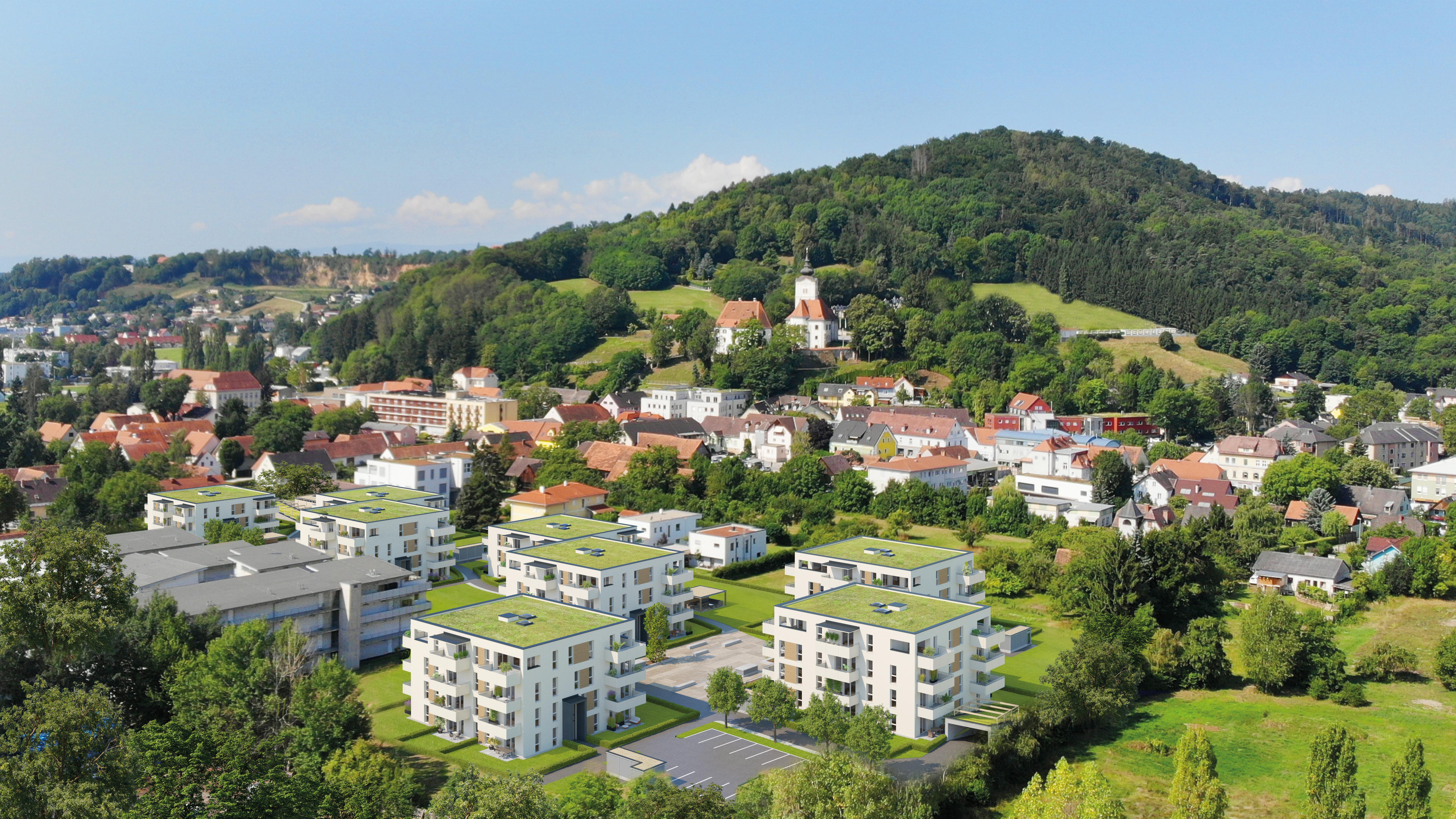186 Grad | Wohnensemble Graz Süd