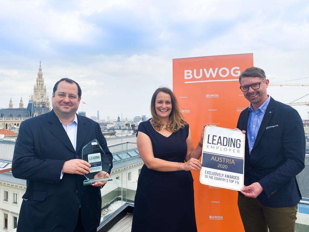 BUWOG erhält Leading Employer Award