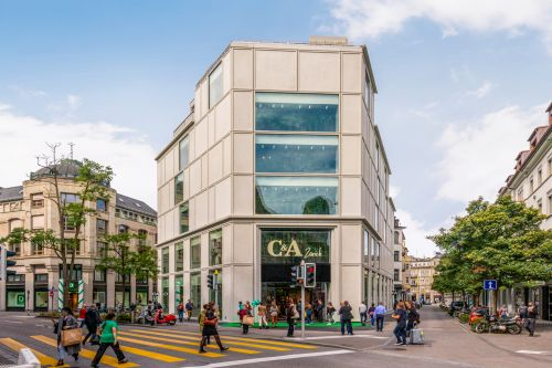 C&A Flagship Store in Zürich fertiggestellt