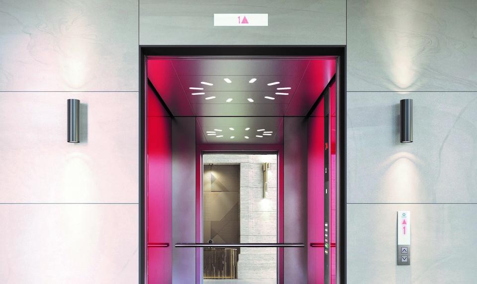 Schindler präsentiert Aufzüge der nächsten Generation