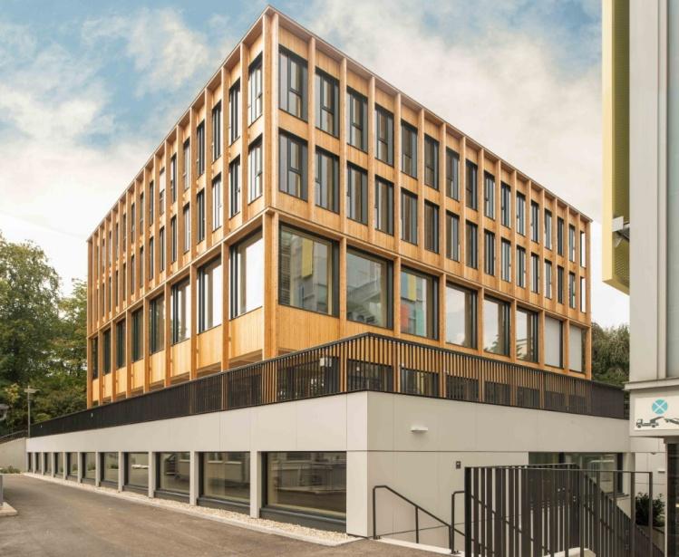 BIG errichtet Universitätsgebäude in Holzbauweise für die BOKU
