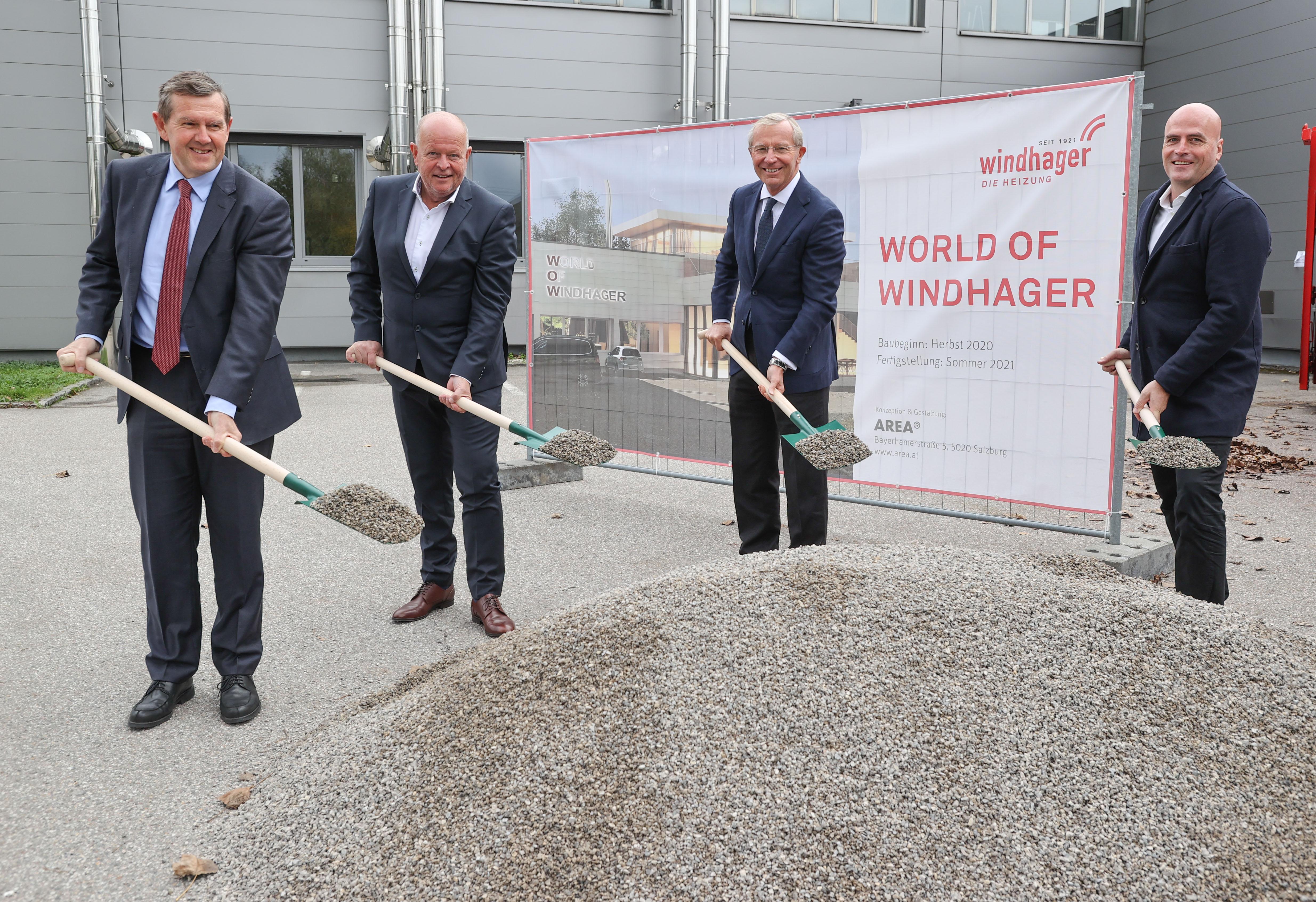 Spatenstich für die World of Windhager