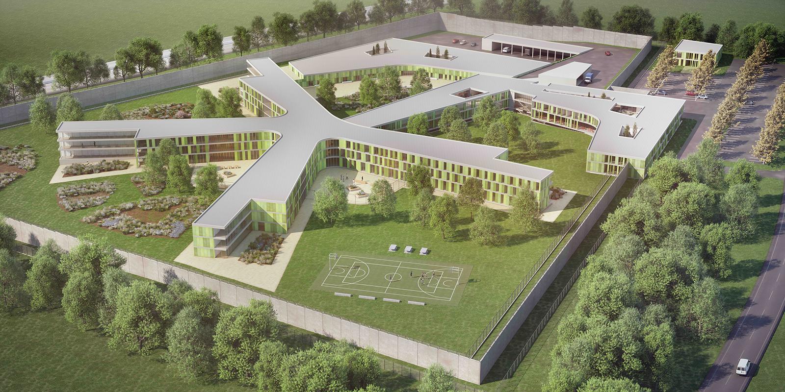 Wettbewerb für Neubau der Justizanstalt Klagenfurt entschieden