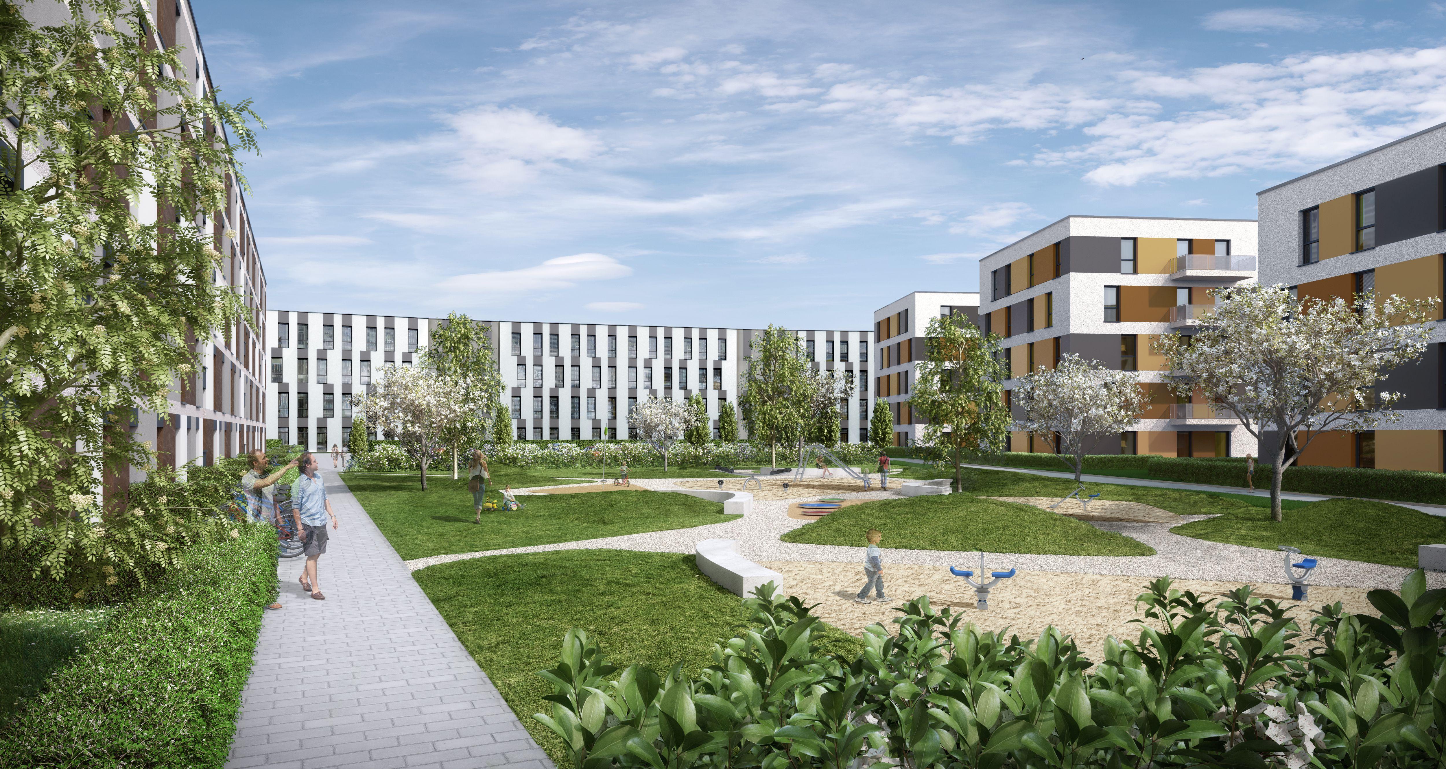 Eyemaxx übergibt erste Gebäude im Projekt Sonnenhöfe in Schönefeld bei Berlin