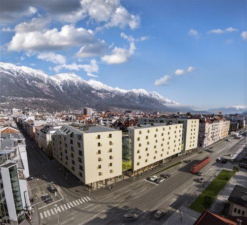 ZIMA bringt urbanes Großprojekt im Herzen Innsbrucks auf Schiene