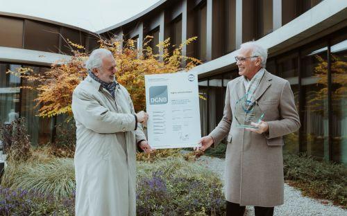 legero united campus erhält ÖGNI Platin Zertifikat und ÖGNI Kristall