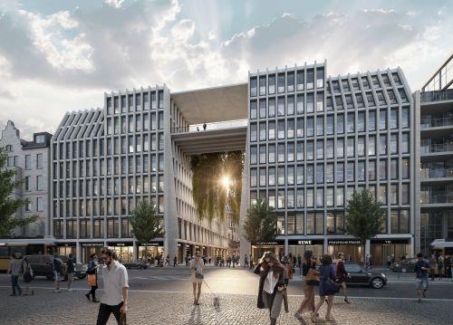 Stadtquartier AM TACHELES schließt einen neuen Mietvertrag mit REWE