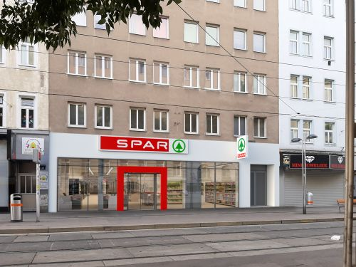 Spar eröffnet auf der Quellenstraße